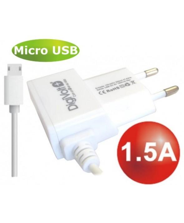 Alimentador red a micro usb 1.5 a (max) qc-2423