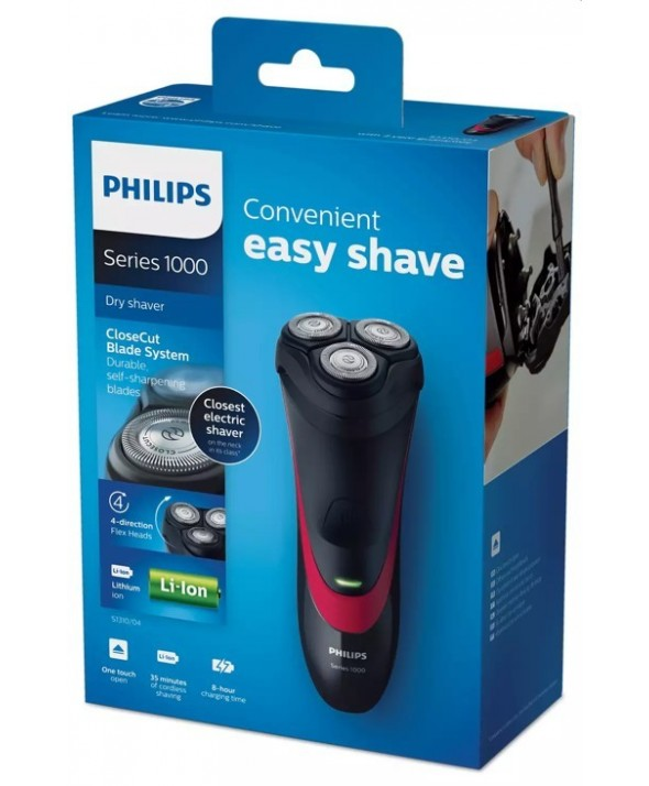 Afeitadora philips recargable litio s1310