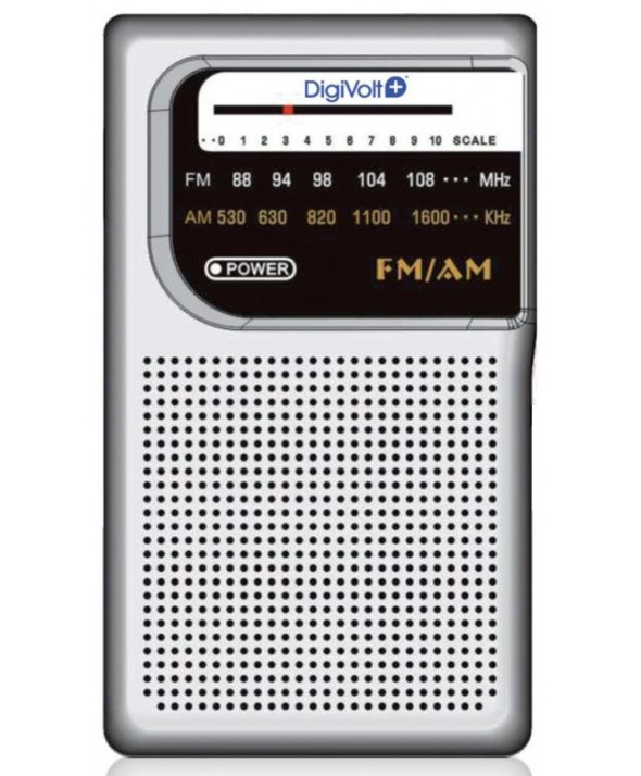 Radio am/fm altavoz.digivolt