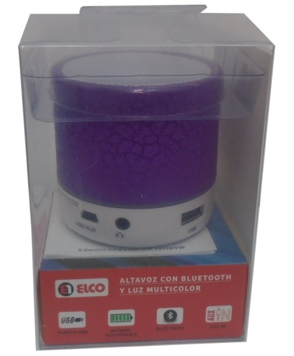 Altavoz multimedia bluetooth + manos libres + usb + radio elco