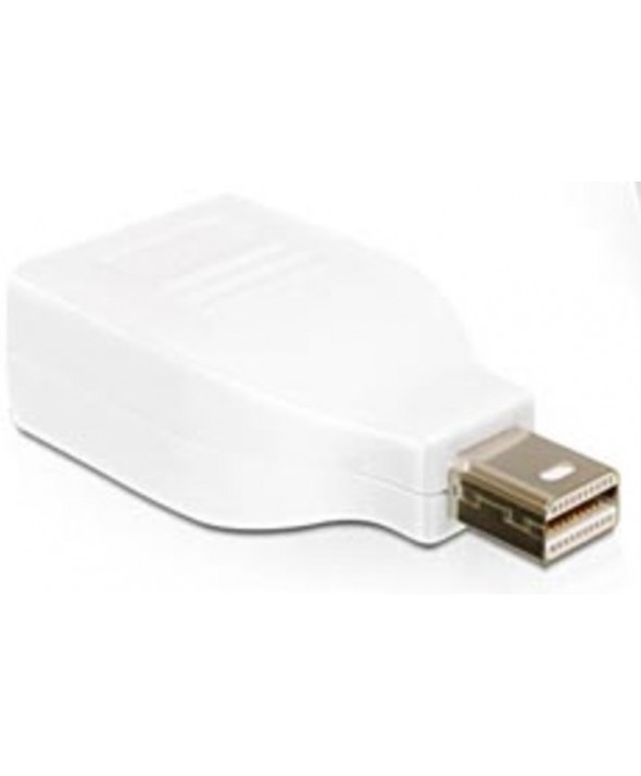 Adaptador mini displayport macho a displayport hembra