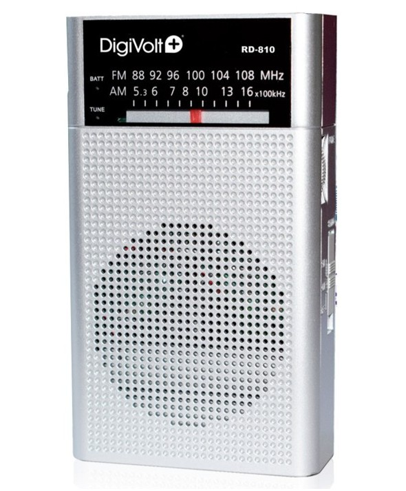 Radio am/fm altavoz grande 2 colores digivolt