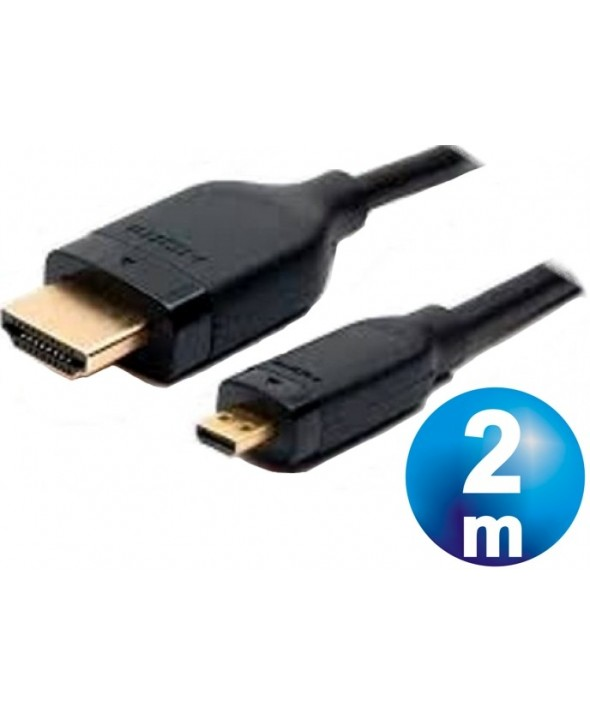 Conexion hdmi macho a hdmi micro macho cable 2 m