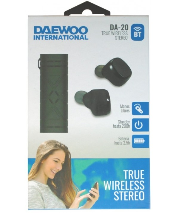 Auricular true bluetooth v4.2 daewoo da-20