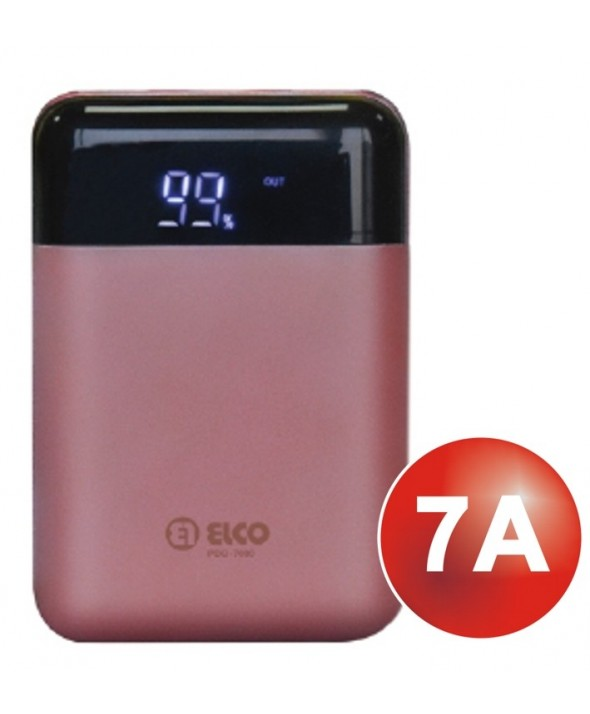 Power bank 2xusb 7000mah digital elco