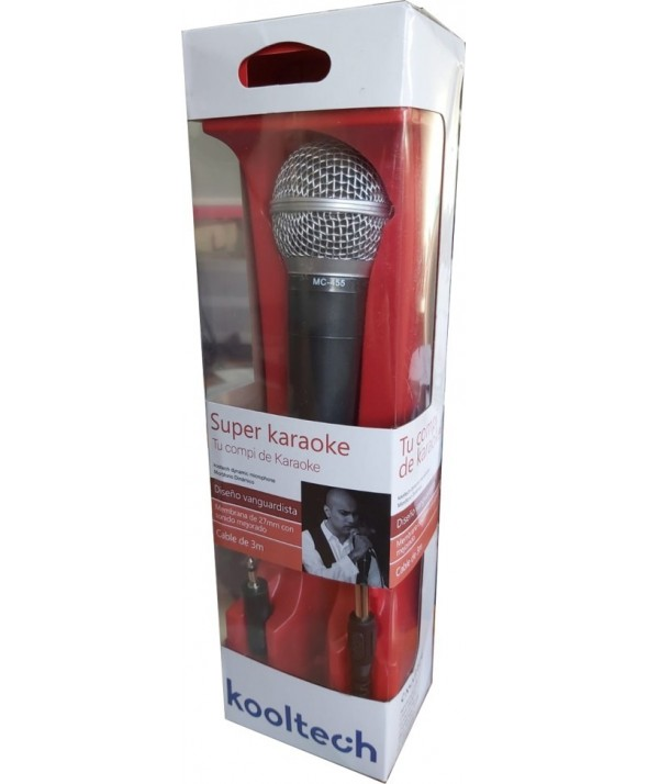 Microfono vocal kooltech mc455